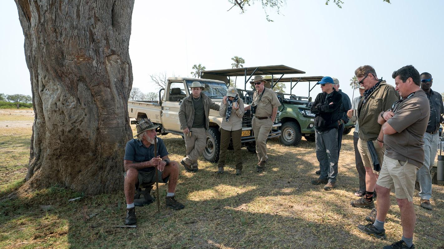 Tasimba Safari, Be Inspired, Indaba with Mr. B.