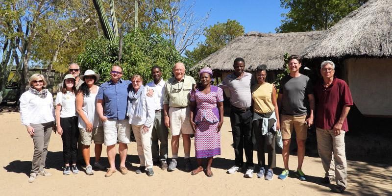 Tasimba Safari - What's in a Name - Village group photo
