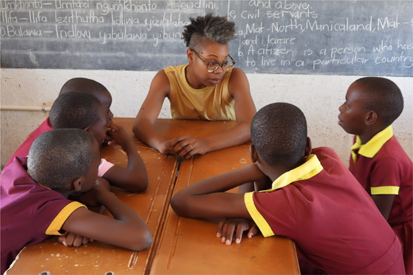 Tasimba - Africa Will Change Your Life - school children